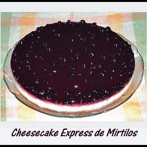 Cheesecake Express de Mirtilos