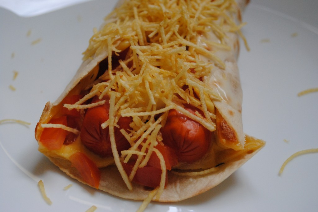 Wrap dog (hot dog diferente)