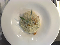 Risoto de Gorgonzola e Damasco