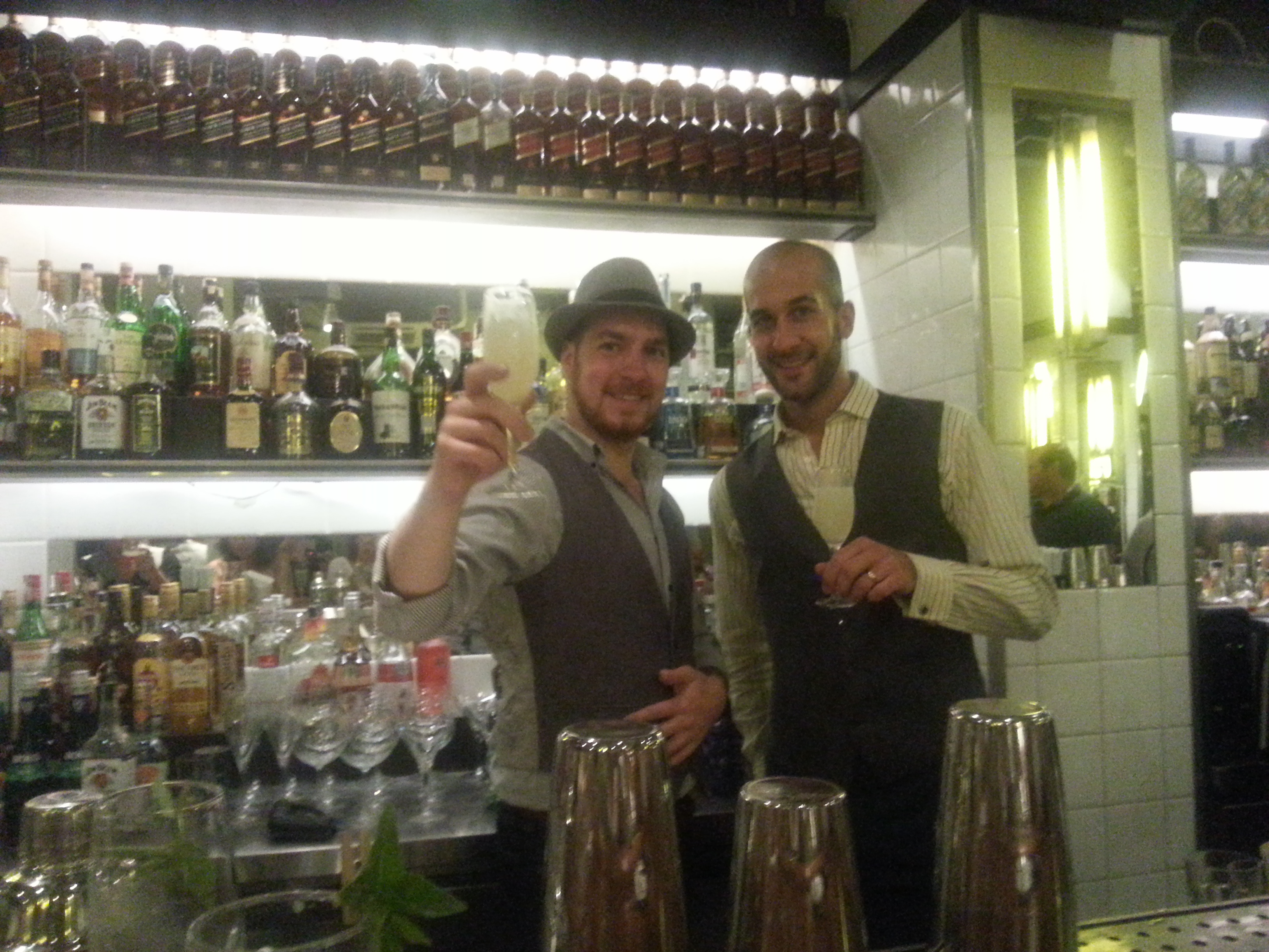 1° Guest Bartender do Bar Astor (Ipanema – RJ) com Rusty Cerven