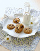 Cookies com gotas de chocolate e amendoim