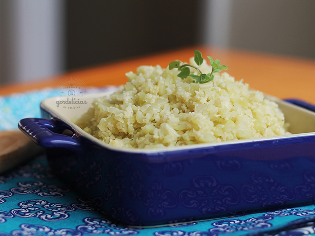 """Arroz"" de Couve Flor (Low Carb)"