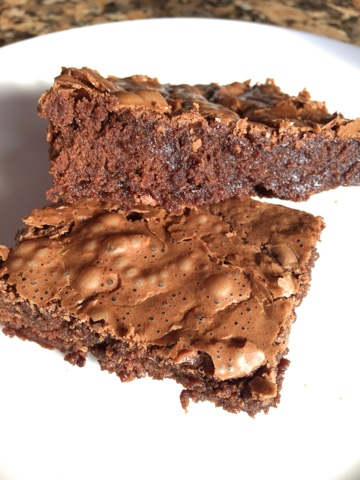 Brownie Duplo de Chocolate