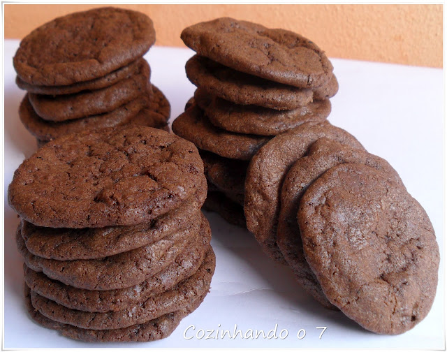 Cookie Triplo de Chocolate