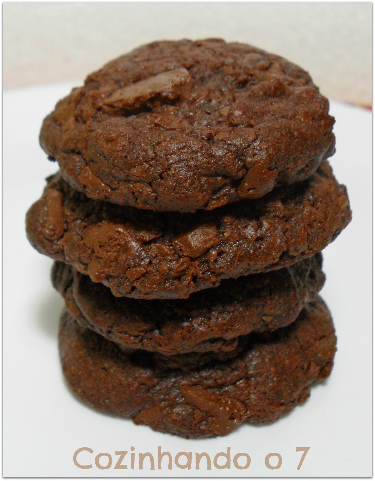 Cookies de Chocolate e Menta