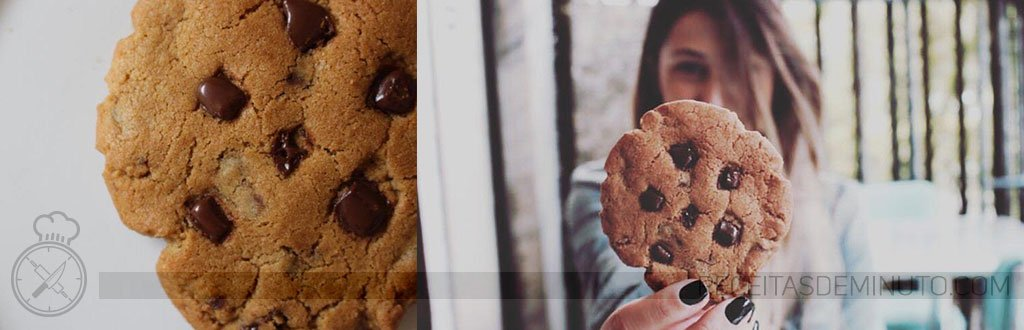 Cookie de Baunilha com Chocolate