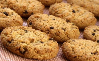 Cookies de Aveia Fit