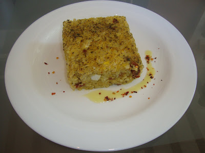 Torta de Arroz com Curry