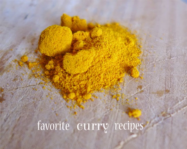 Favorite curry recipes