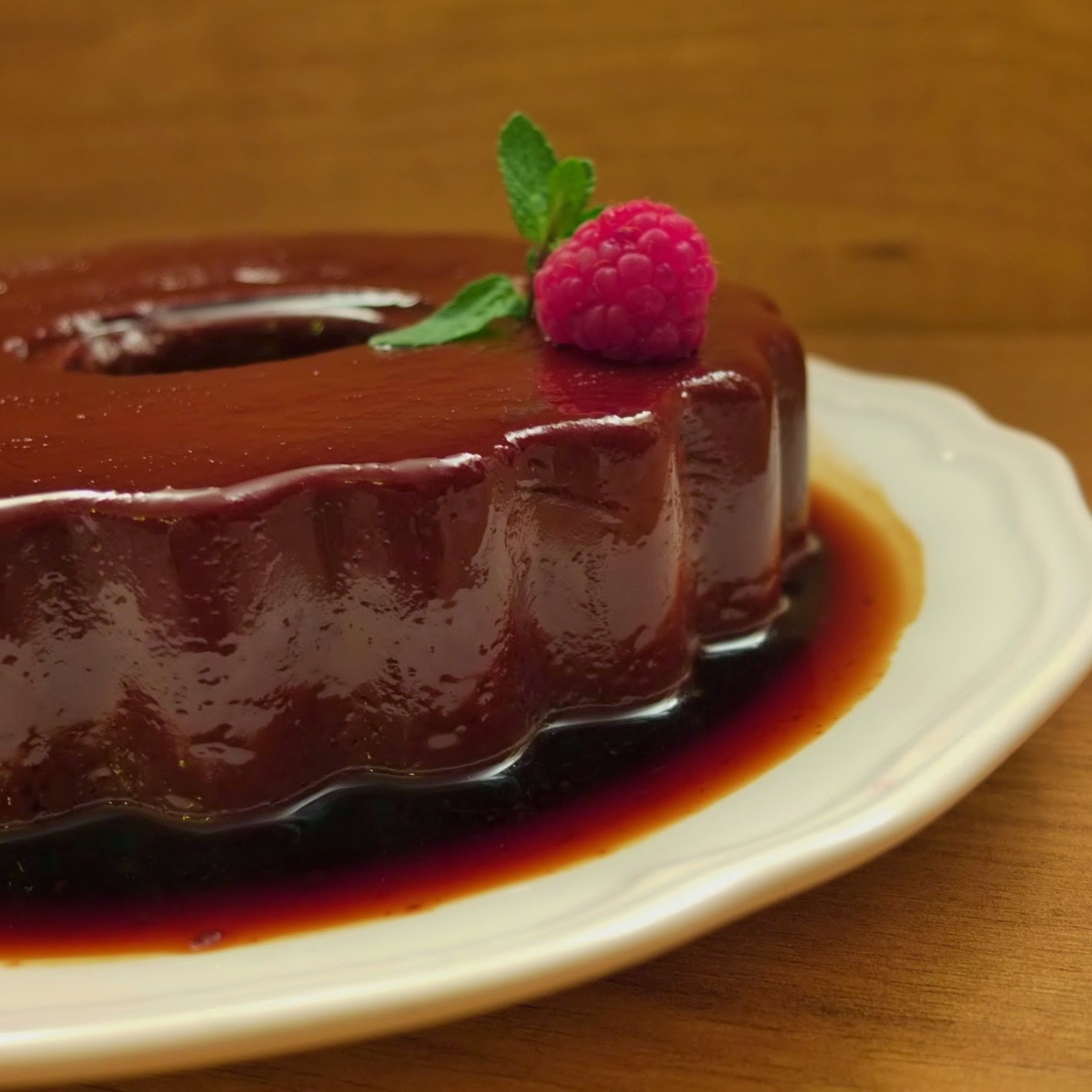 Flan de chocolate e especiarias | Spicy chocolate flan
