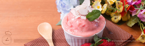 Frozen Yogurt de Morango