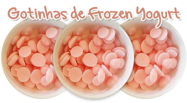 Gotas de Frozen Yogurt