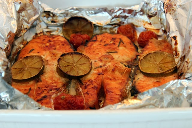 Salmão para a marmita - Salmon for the lunchbox