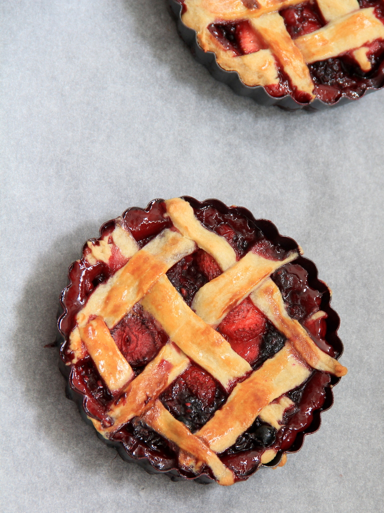 Tartes de Frutos Vermelhos || Wild Berries Pie