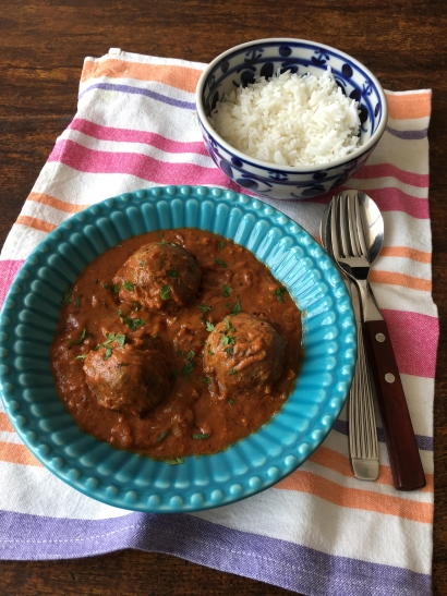 kofta ao curry