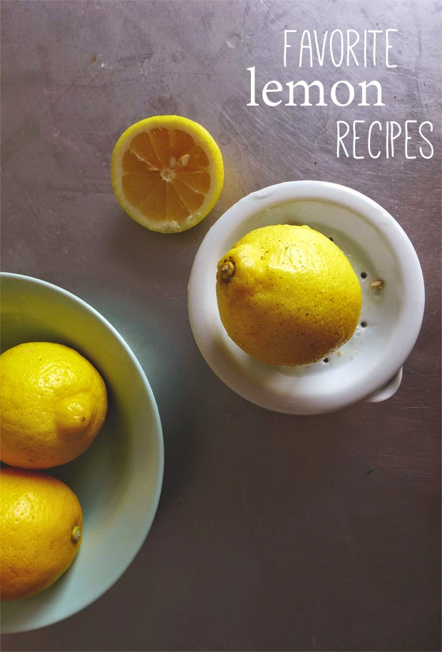 Receitas favoritas com limão/ Favorite lemon recipes