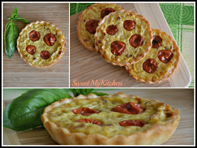 Mini-quiches de tomate cereja