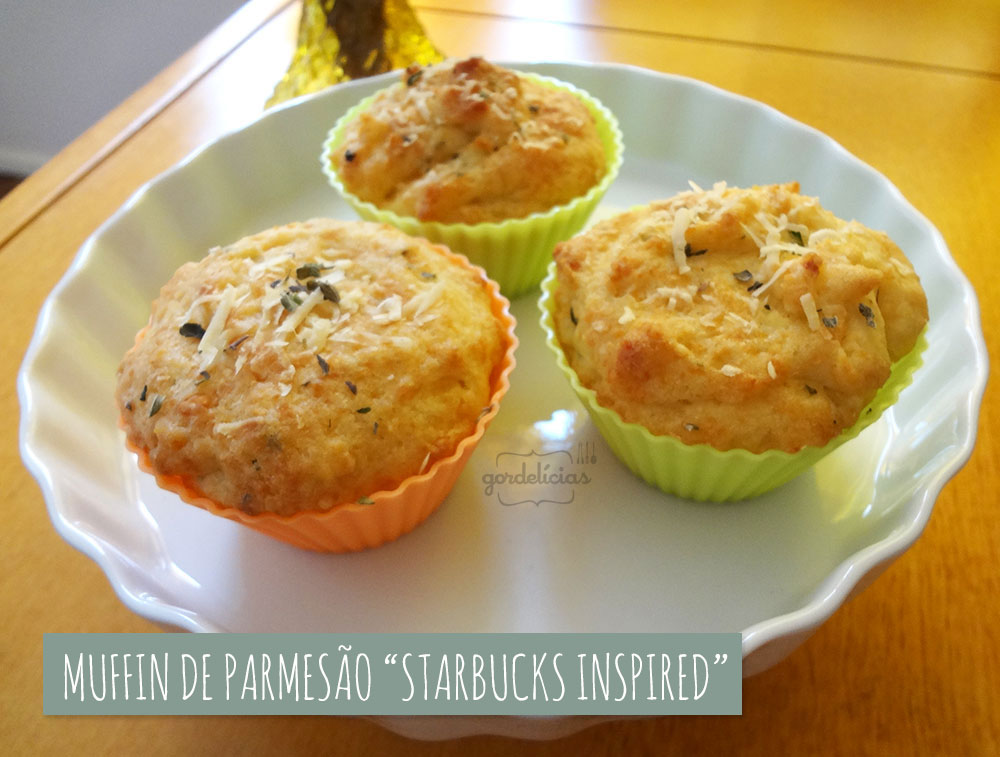 Muffin de Parmesão do Starbucks