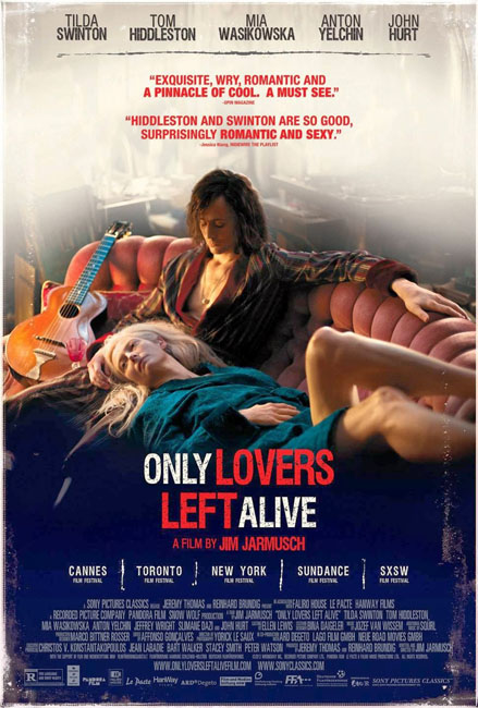 Only Lovers Left Alive & Cheesecake de Morango