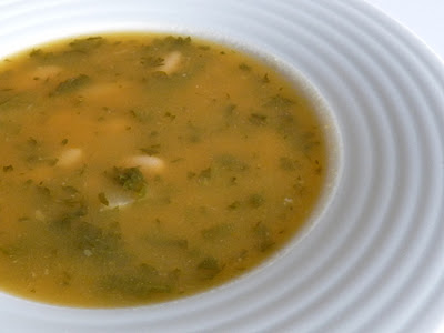 Sopa de Nabo e Nabiça ~ Turnip Soup with Turnip Greens