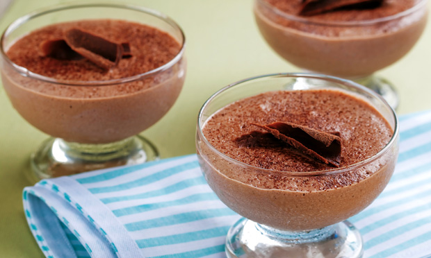 Mousse de chocolate Danete