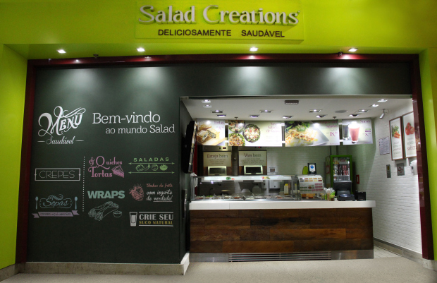 Salad Creations abre no Iguatemi