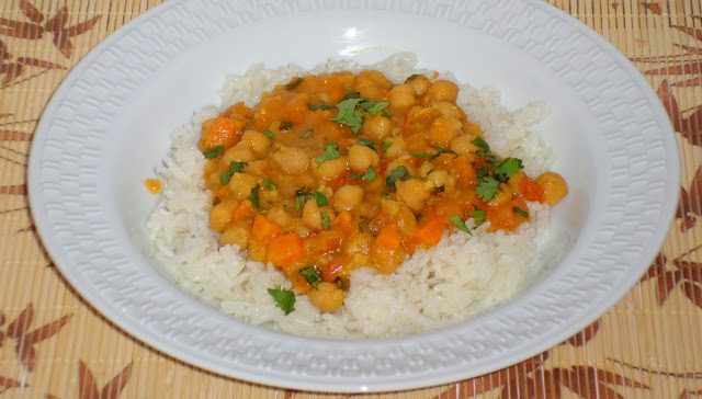 Curry de Grão de Bico