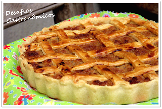 DESAFIO: Fazer a torta preferida do Harry Potter, a Treacle Tart!