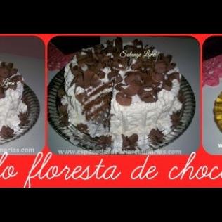 Bolo Floresta Negra De Chocolate