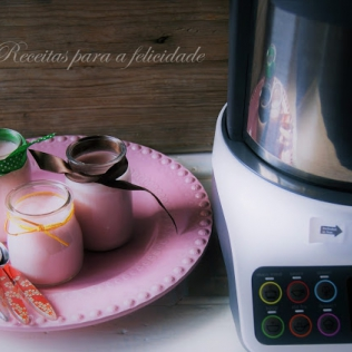 Gelatina De Iogurte Na Kcook Multi